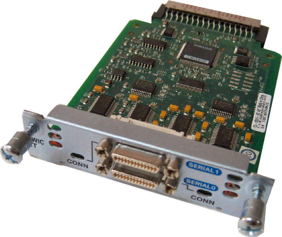 HWIC-2T Cisco Router High-Speed Dual Serial Card